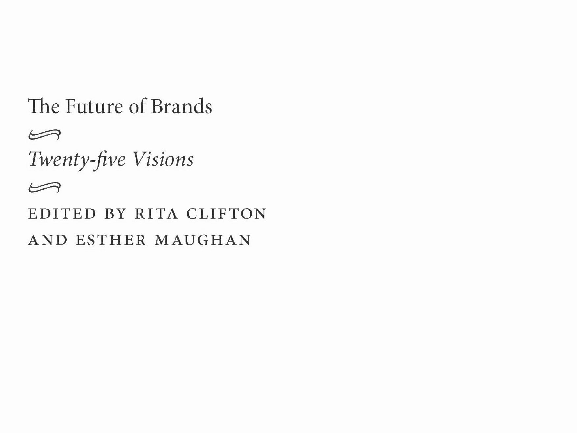 The future of brands cover inverted